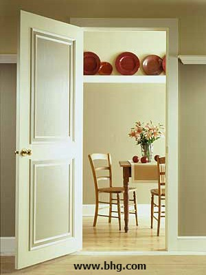 Converting a Plain Modern Door to a Traditional Paneled Door & Converting a Plain Modern Door to a Traditional Paneled Door - Mr ...