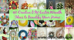 Easter wreath ideas