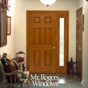 wooden door frame & Removing Mold and Mildew from Exterior Doors - Mr Rogers Windows
