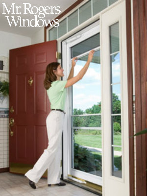 Vented and Unvented Storm Doors & Vented and Unvented Storm Doors - Mr Rogers Windows