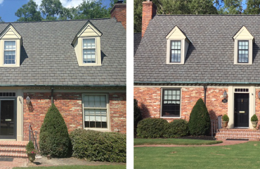 Black Windows - Before and After